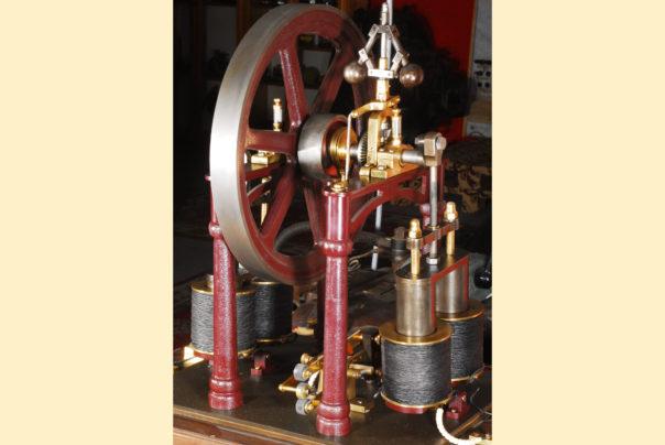 Foto des Nachbaus eines Galvanomotors