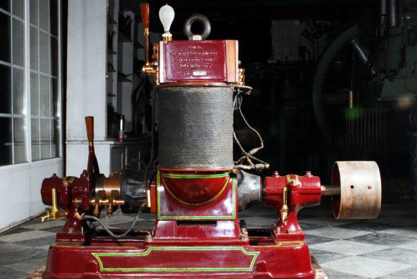 Foto eines Edison Gleichstromgenerators
