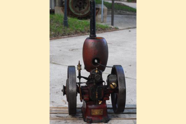 Foto eines Petter Einzylindermotors Typ M