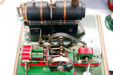 Große Dampfmaschine, Modell