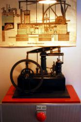 Balancier Dampfmaschine Niederdruck